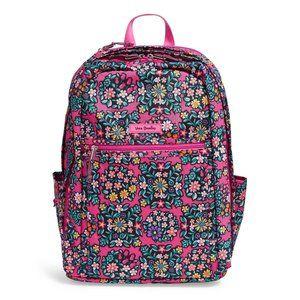 Vera Bradley Grand Backpack Large Backpack New